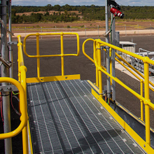 Steel Grating for Oil & Gas