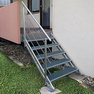 Steel Grating for Stairways